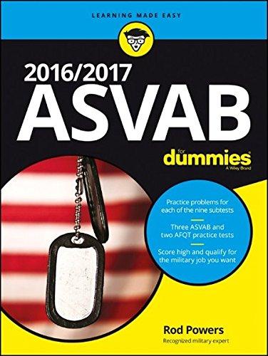 9781119239178: ASVAB For Dummies 2016/2017