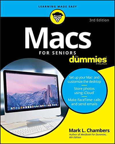 9781119245506: Macs For Seniors For Dummies