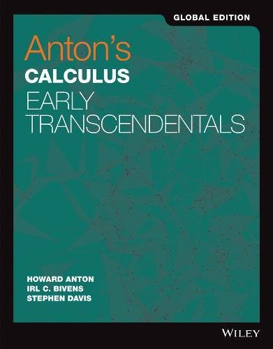 9781119248903: Anton's Calculus Early Transcendentals