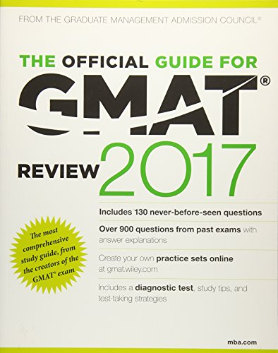 9781119253884: The Official Guide for GMAT Review 2017 with Online Question Bank and Exclusive Video