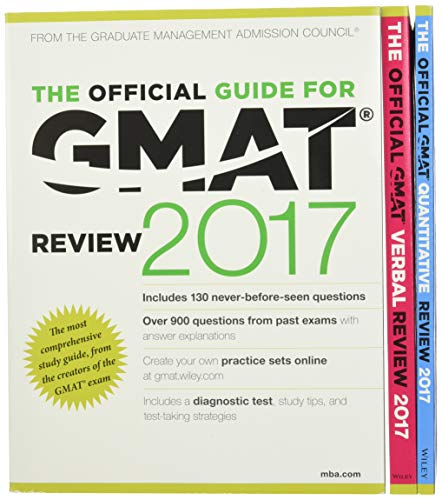 9781119254683: The Official Guide to the GMAT Review 2017 Bundle + Question Bank + Video (Gmat Pack)