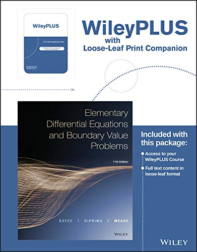 9781119256007: Elementary Differential Equations and Boundary Value Problems