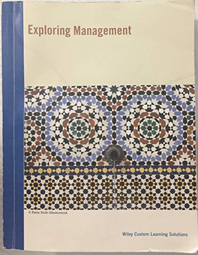9781119263821: Exploring Management