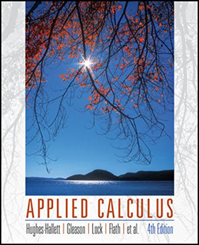 9781119268055: Applied Calculus, 4e WileyPLUS Student Package (Wiley Plus Products)