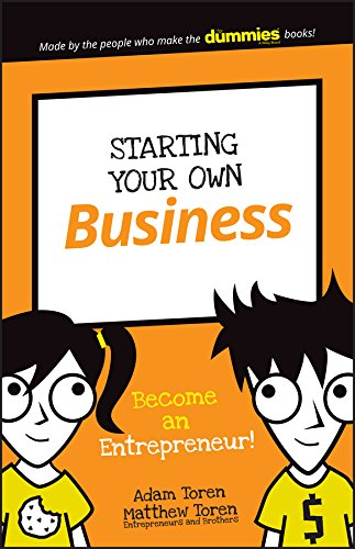 9781119271642: Starting Your Own Business: Become an Entrepreneur! (Dummies Junior)