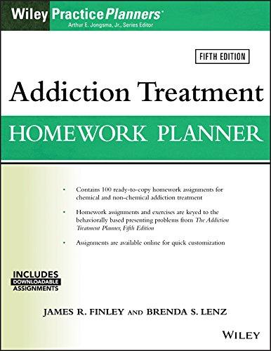 Addiction Treatment Homework Planner (Paperback): James R. Finley,