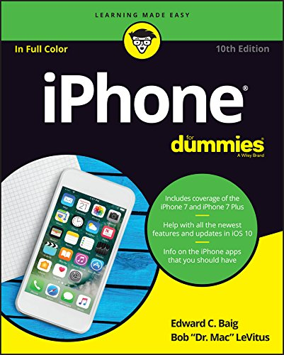 iPhone For Dummies 9781119283133 Set your iPhone to stun! Apple keeps packing more punch into the iPhone, and iPhone For Dummies has been the go-to guide for aficionados