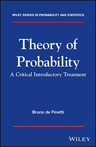 9781119286370: Theory of Probability: A critical introductory treatment (Wiley Series in Probability and Statistics)