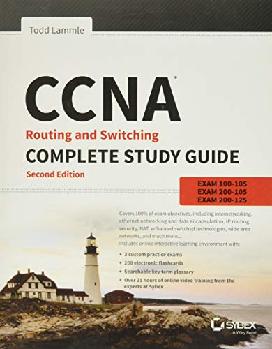 9781119288282: CCNA Routing and Switching Complete Study Guide: Exam 100-105, Exam 200-105, Exam 200-125