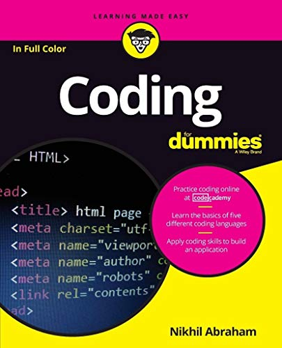 9781119293323: Coding For Dummies