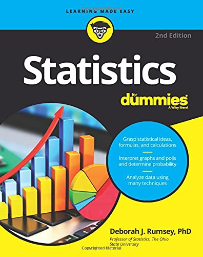 9781119293521: Statistics For Dummies (For Dummies (Math & Science))