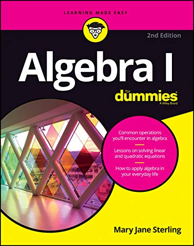 9781119293576: Algebra I For Dummies (For Dummies (Math & Science))