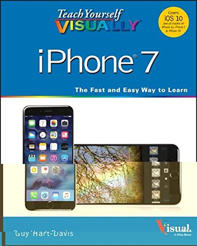 Teach Yourself VISUALLY iPhone 7: Covers iOS 10 and all models of iPhone 6s, iPhone 7, and iPhone SE 9781119294153 A visual guide to the latest iPhone technology Teach Yourself VISUALLY iPhone is the visual guide to mastering the powerful features and