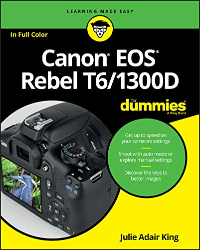 9781119295648: Canon EOS Rebel T6/1300D For Dummies (For Dummies (Lifestyle))