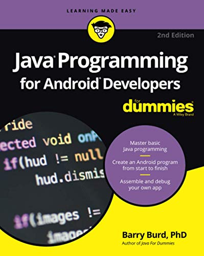 9781119301080: Java Programming for Android Developers For Dummies (For Dummies (Computers))