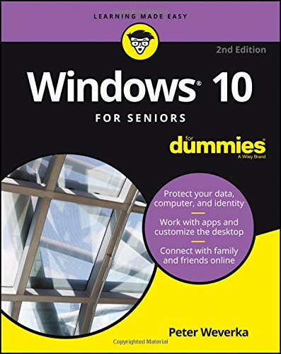 9781119310617: Windows 10 For Seniors For Dummies (For Dummies (Computers))