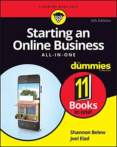 9781119315520: Starting an Online Business All-In-One for Dummies, 5th Edition