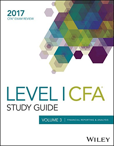 9781119331063: Wiley Study Guide for 2017 Level I CFA Exam: Financial Reporting & Analysis