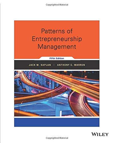 9781119355281: Patterns of Entrepreneurship Management, 5th Edition