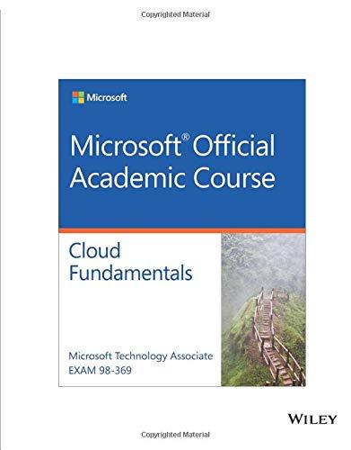 9781119355359: Exam 98-369 MTA Cloud Fundamentals