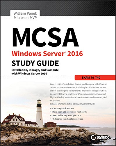 9781119359340: MCSA Windows Server 2016 Study Guide: Exam 70-740