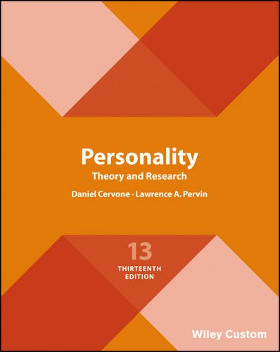 personality theory and research cervone