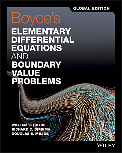 9781119382874: Boyce's Elementary Differential Equations and Boundary Value Problems