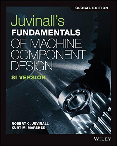 9781119382904: Fundamentals of Machine Component Design, Global Edition