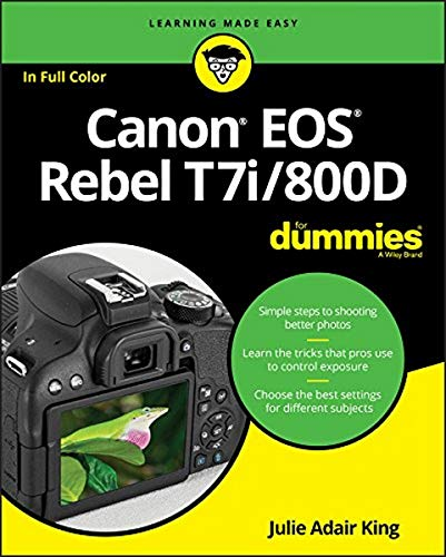 9781119399773: Canon EOS Rebel T7i/800D For Dummies (For Dummies (Computer/Tech))