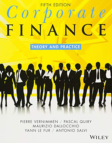 9781119424482: Corporate Finance: Theory and Practice
