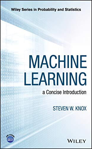 9781119439196: Machine Learning: a Concise Introduction