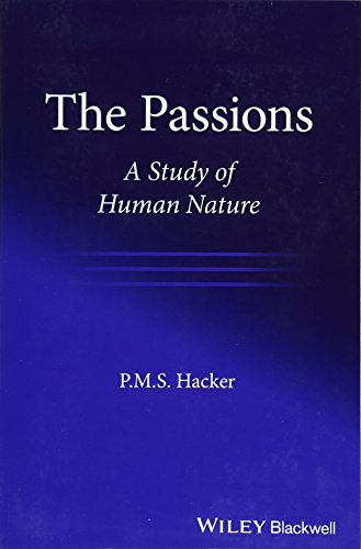 9781119440468: The Passions: A Study of Human Nature