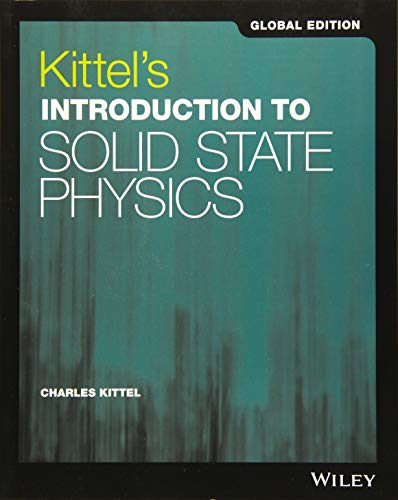 9781119454168: Kittel's Introduction to Solid State Physics