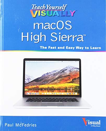 9781119463917: Teach Yourself VISUALLY macOS High Sierra