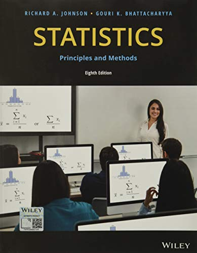 9781119497110: Statistics: Principles and Methods