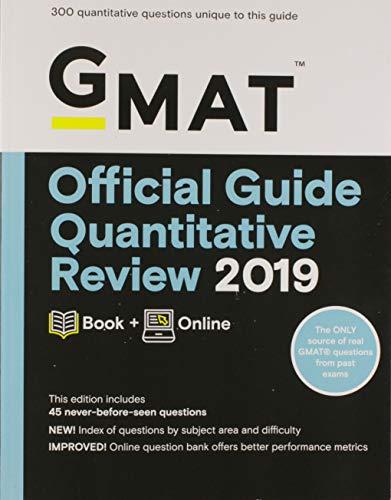 9781119507710: GMAT Official Guide Quantitative Review 2019: Includes Online Content: Book + Online
