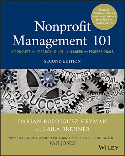 Book Cover: Nonprofit Management 101: A Complete and Practical Guide for Leaders and Professionals