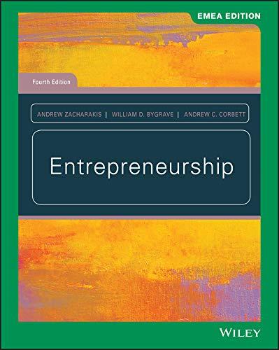 9781119586722: Bygrave, W: Entrepreneurship