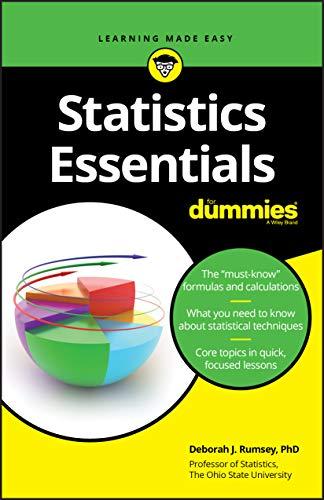 9781119590309: Statistics Essentials For Dummies