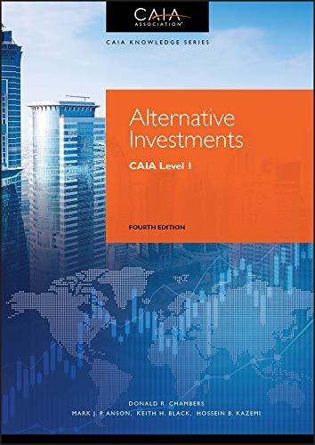 9781119604143: Alternative Investments: Caia Level I