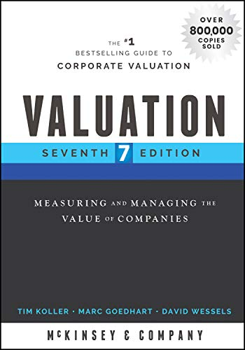 9781119610885: Valuation: Measuring and Managing the Value of Companies (Wiley Finance)