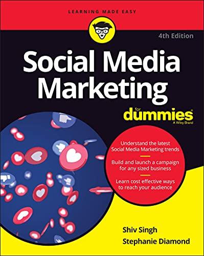 9781119617006: Social Media Marketing For Dummies, 4th Edition
