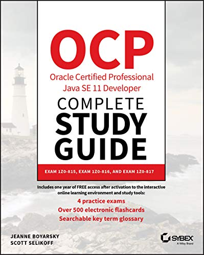 9781119619130: OCP Oracle Certified Professional Java SE 11 Developer Complete: Exam 1z0-815, Exam 1z0-816, and Exam 1z0-817