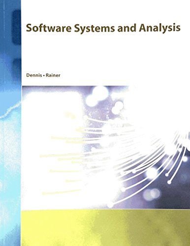 9781119924975: Software Systems and Analysis