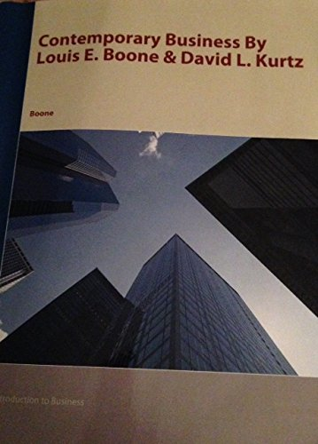 9781118291986 contemporary business 15th edition abebooks 9781119928720 contemporary business by louis e boone david l kurtz 15th edition fandeluxe Choice Image