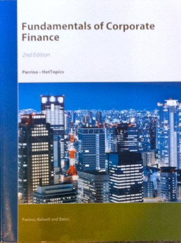 9781119934677: Fundamentals of Corporate Finance
