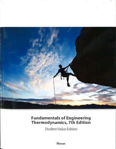 9781119938279: Fundamentals of Engineering Thermodynamics, 7th Edition