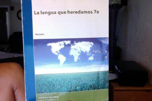 9781119938798: La Lengua Que Heredamos 7e