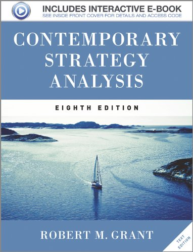 9781119941880: Contemporary Strategy Analysis Text Only