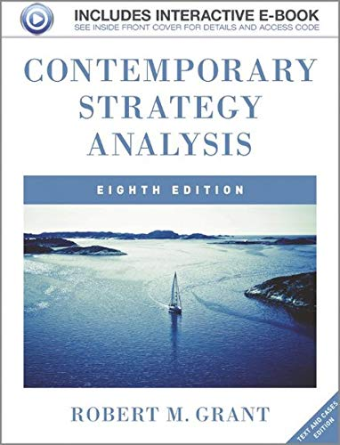 9781119941897: Contemporary Strategy Analysis: Text and Cases, Includes Interactive E-Book
